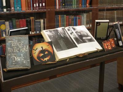 Halloween exhibit